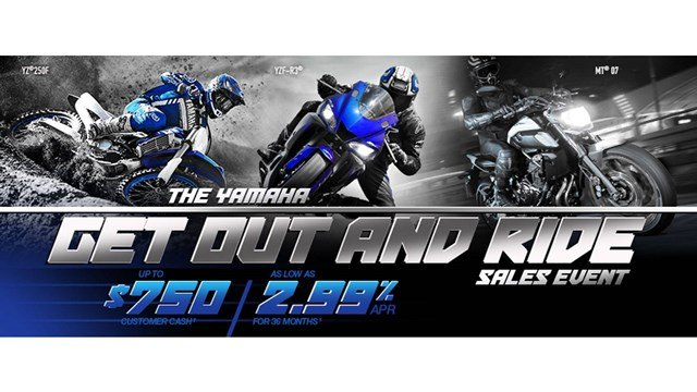 Yamaha Motorcycle  - Current Offers and Financing